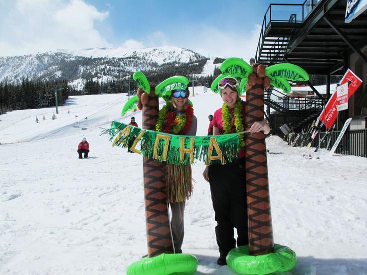 Aloha cup sports festival in Marmot Basin near Jasper, Alberta -SnowSeekers.ca