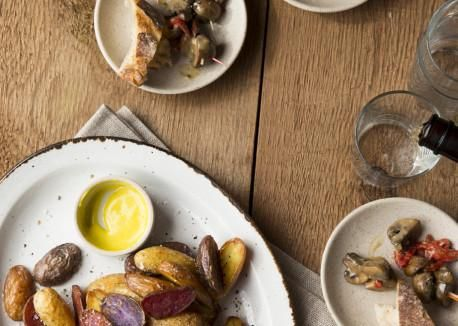 Salt-and-Vinegar Roasted Potatoes Recipe | Vegetarian Times