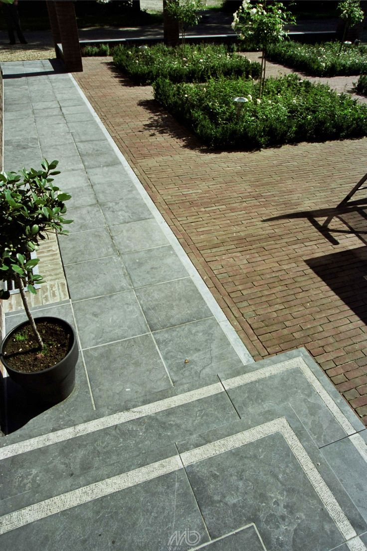Spotted-Bluestone Tegels