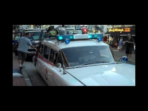 Liked on YouTube: San Diego Comic Con 2010  The Ghostbusters Car In Gaslamp District #SDCC