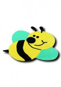 Dalla collezione happy games ecco arrivati per i più piccoli, una serie di tappeti per la cameretta dei bambini assolutamente divertenti.tappeto fantasia ape