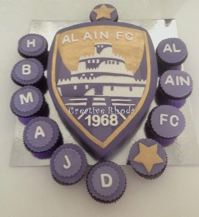 Al Ain fc Cake made by Rhoda Kazanji