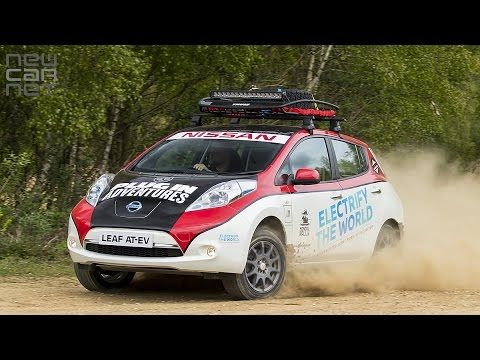 #VIDEO: #Nissan #LEAF enters #Mongol #Rally