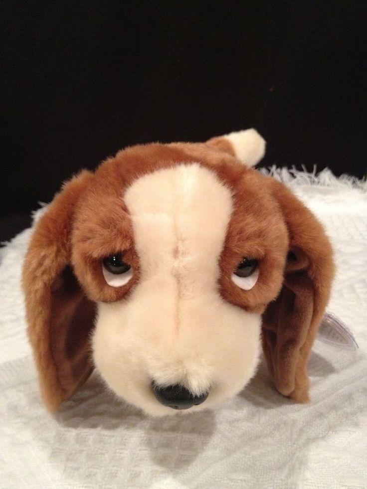 55db27951b8 Ty Beanie Baby BONES Bassett Houng Dog Tan Plush 1993 No
