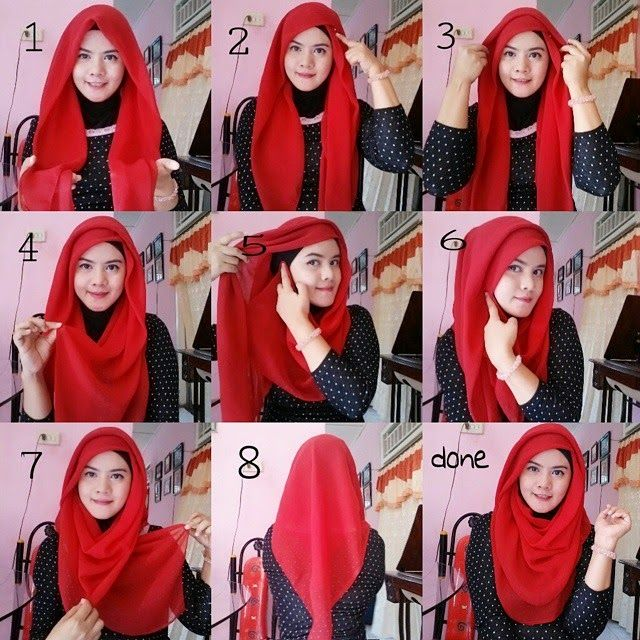 Best And Easy New Hijab Tutorial For Casual Wear