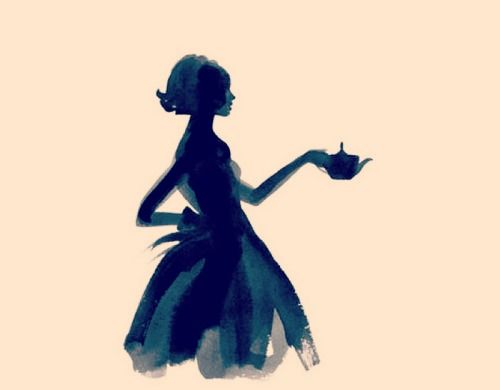 Tabley Street: F Sketch, Skirts Silhouettes, Fashion Sketches, Graphic Illustration, Ink Illustrations, Graphics Illustrations, Silhouette Painting, Coffee And Books, Mint Tea