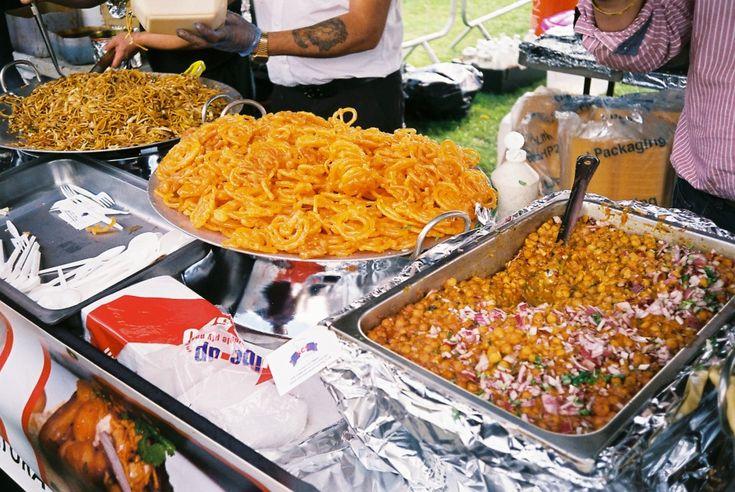 Mela – Gunnersbury Park – Punjabi Food