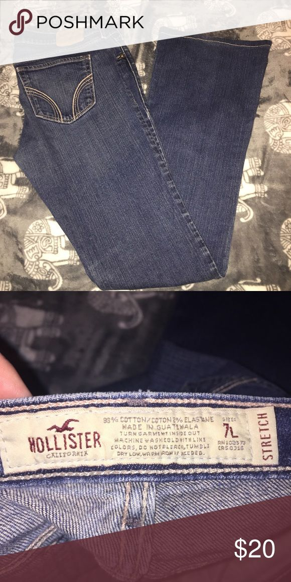 Hollister boot cut jeans Hollister boot cut jeans size 7 Hollister Pants Boot Cut & Flare