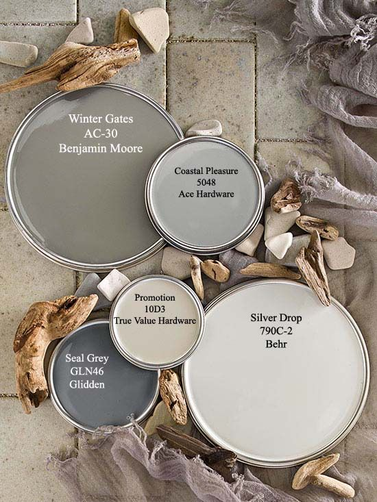 Driftwood Gray Paint Colors Via Bhg Com Paint Colors For