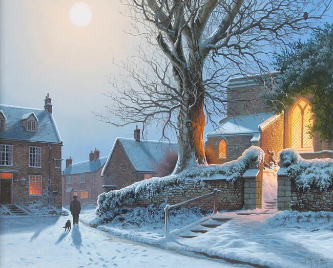 English Winter Evening: Daniel Van Der Putten.