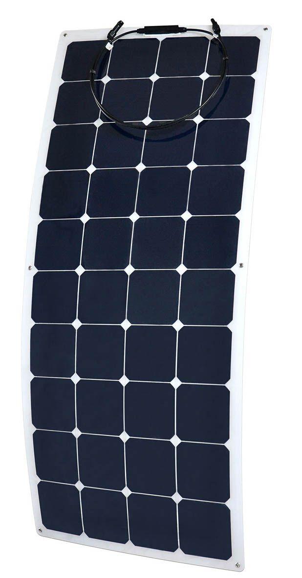 Panneau solaire semi flexibles.