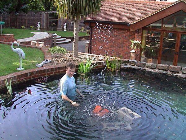 17 best koi pond images on pinterest koi ponds backyard for Large pond filtration