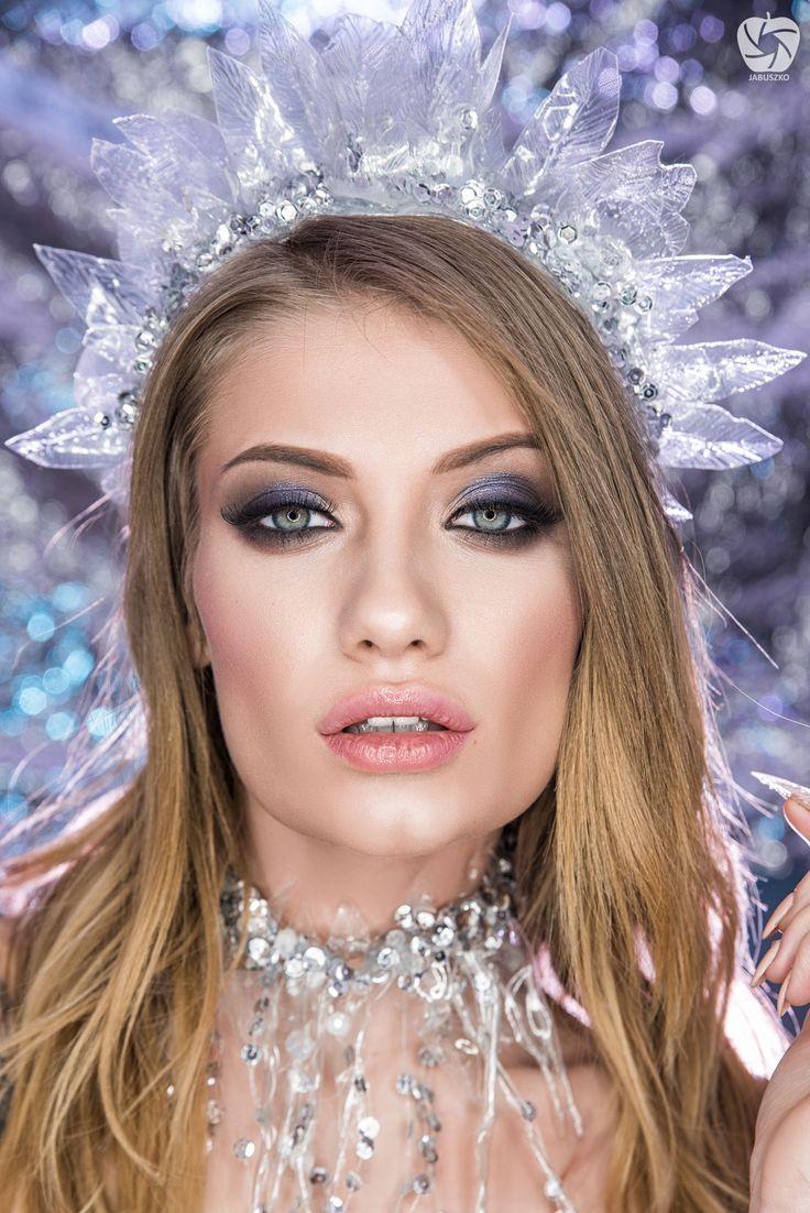 Ice queen - Model: Sandra Rozwandowicz Photomodel MUA: Joanna Biskupska MakeUp Jewellery: Joanna Lola Lange