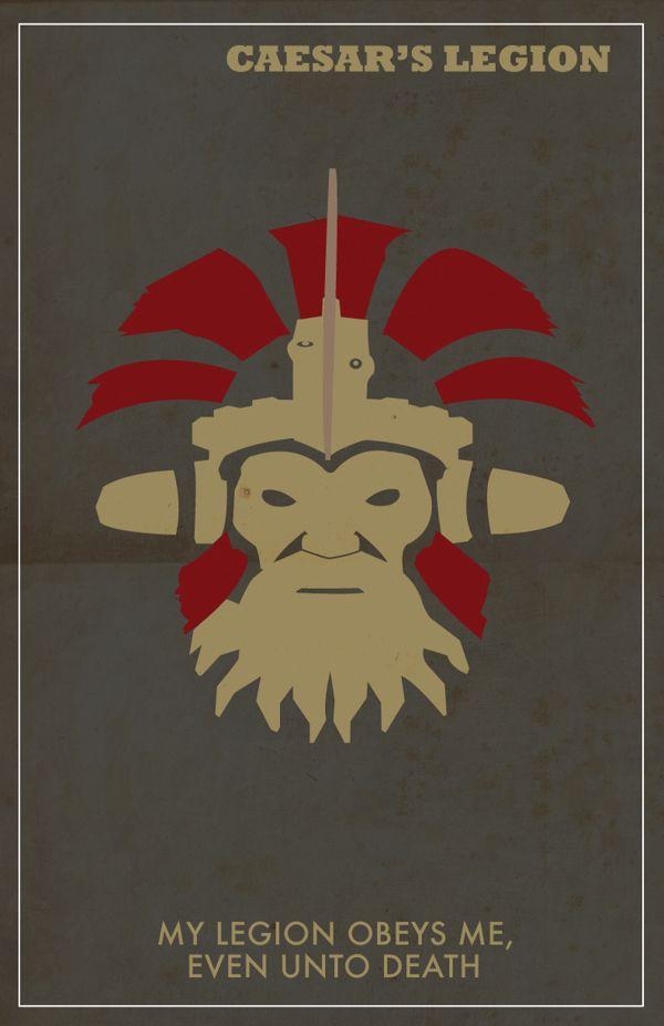 Caesars Legion Propaganda Poster