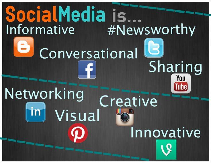 Social media is ... http://bitsocialmedia.blogspot.com/2013/06/social-media-is.html