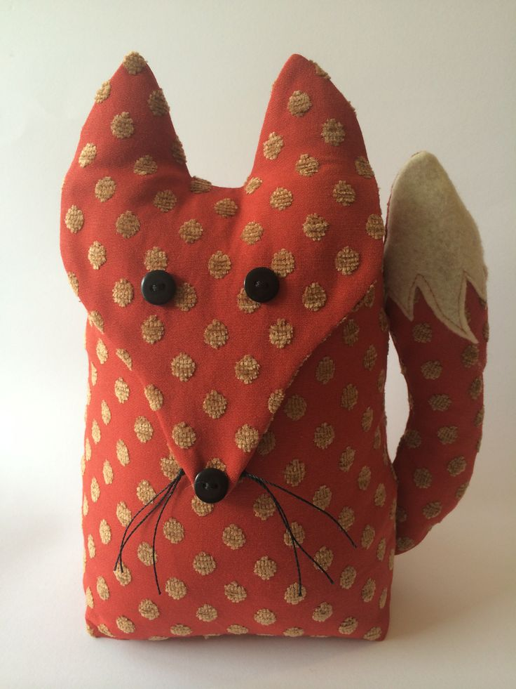Fox Door Stop. Exclusively designed & handmade by Billies Boards.