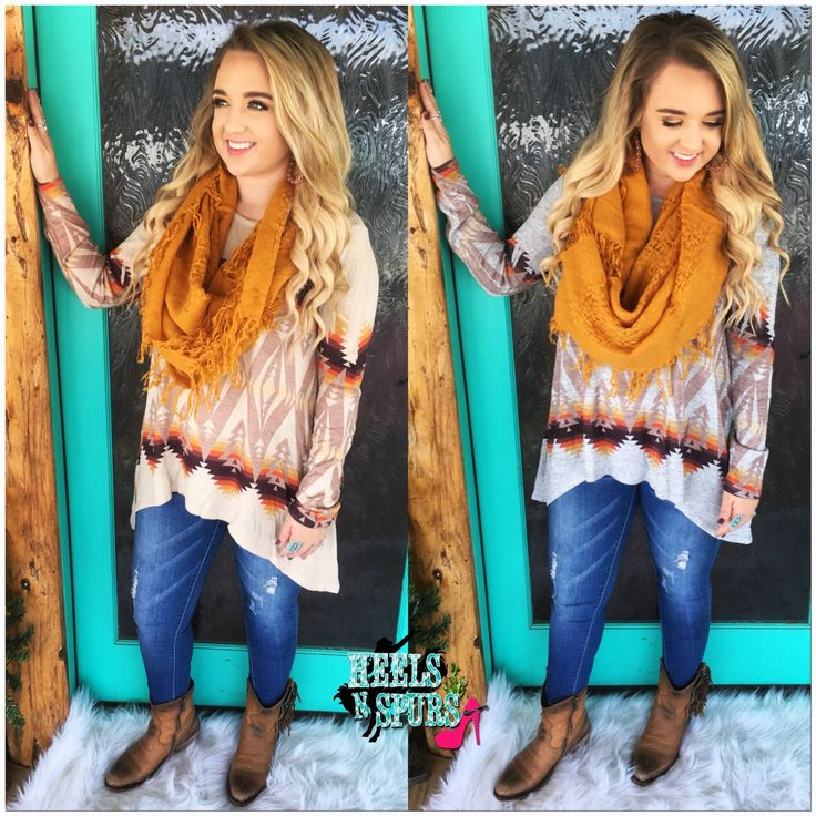 Fall Aztec Top