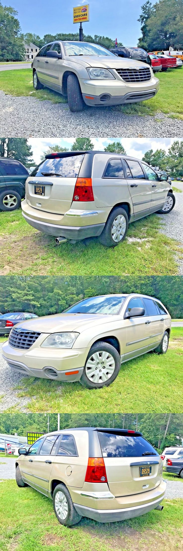 Suvs 2006 chrysler pacifica 4d suv 2006 chrysler pacifica super clean roomy 3 5l family