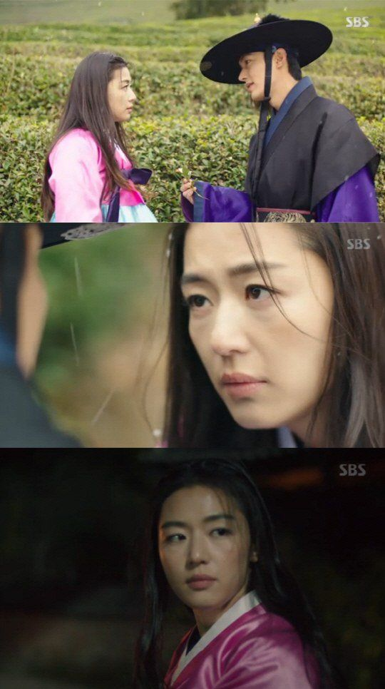 "[Spoiler] ""The Legend of the Blue Sea"" Lee Min-ho saves Jeon Ji-hyeon and says ""I missed you"""