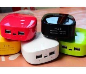 Pack de 2 Baterías portátiles USB Alta Capacidad 6000mAh. Al -59%