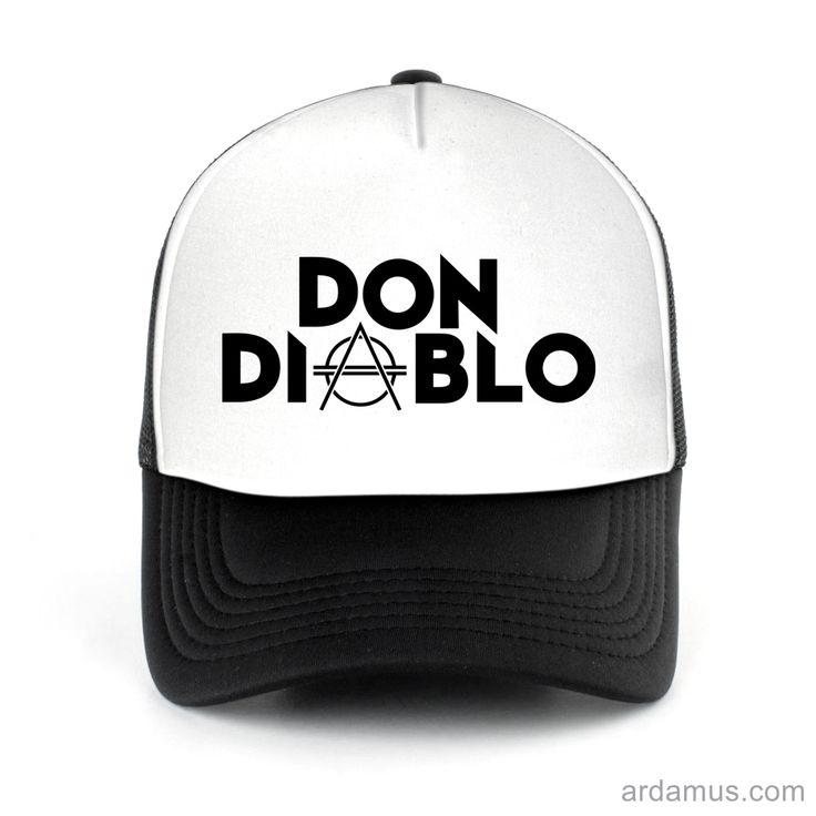 Don Diablo Trucker Hat for men or women. Available color black, red, pink, green. Shop more at ARDAMUS.COM #djtruckerhat #djcap #djsnapback #djhat