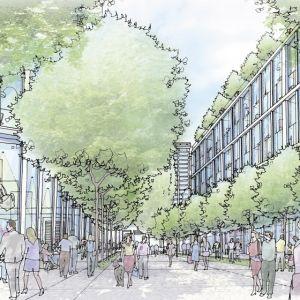 New Property Developments London.  Cuba Street, E14.