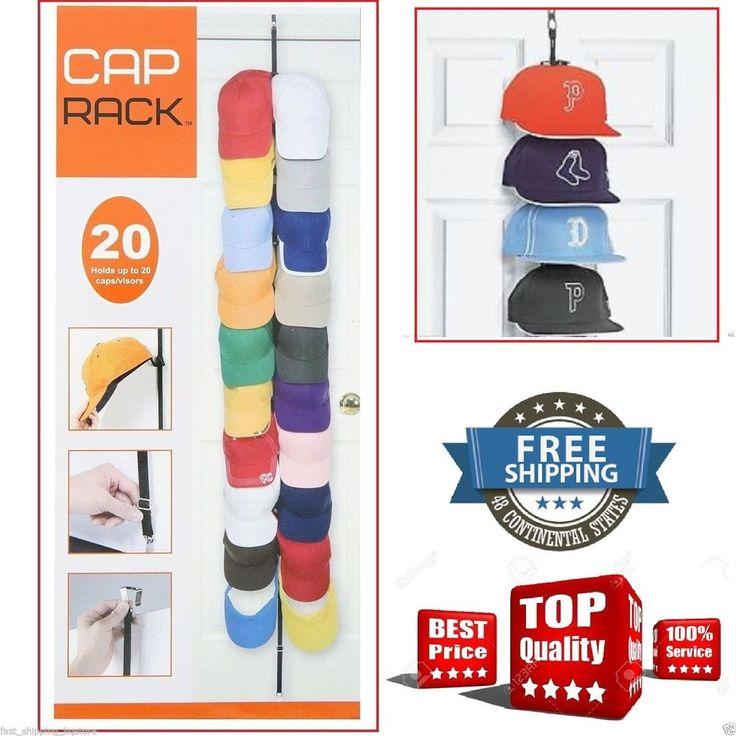 baseball cap storage bag rack closet hangers hat box ideas pinterest