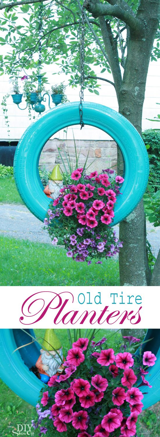 best 10+ old tire planters ideas on pinterest | tire planters, old