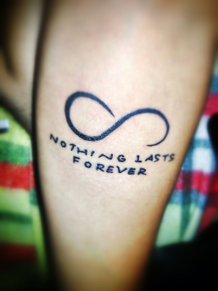 NOTHING LASTS FOREVER | Tattoo | Pinterest | Nothing lasts ...