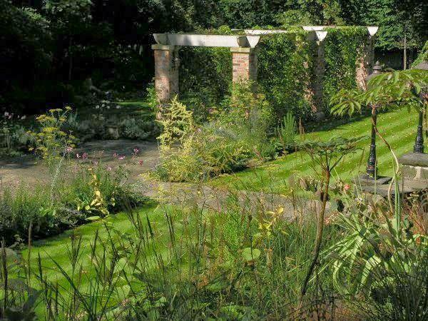 David Keegans Garden Design Blog: Garden design project in Lancashire inspired by Gertrude Jekyll, By David Keegan Garden Design, Pergola