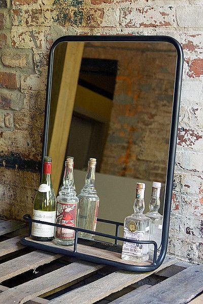 Medium Barber Shop Mirror - Wall Mirrors - Shop Nectar