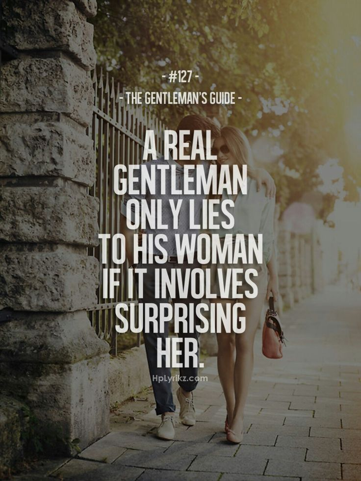 a real gentleman quotes - photo #12