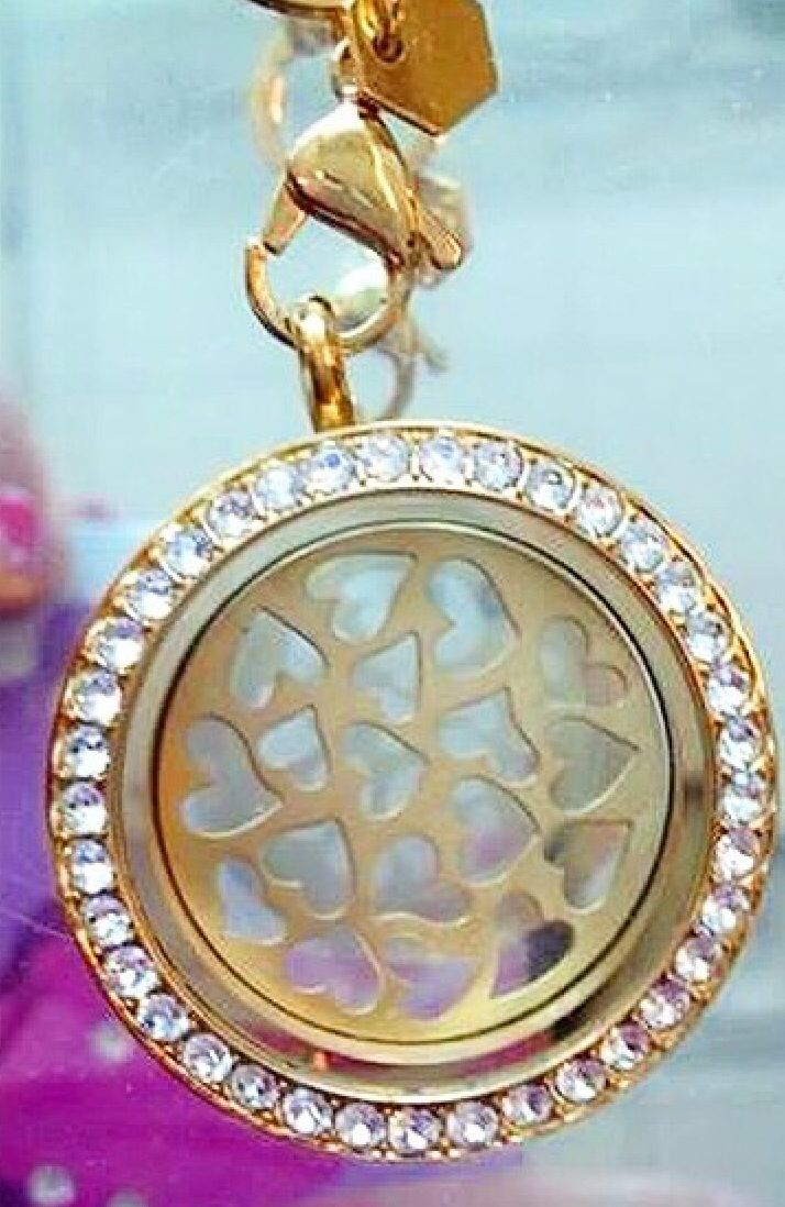 new gold hearts plate from origami owl httpswww