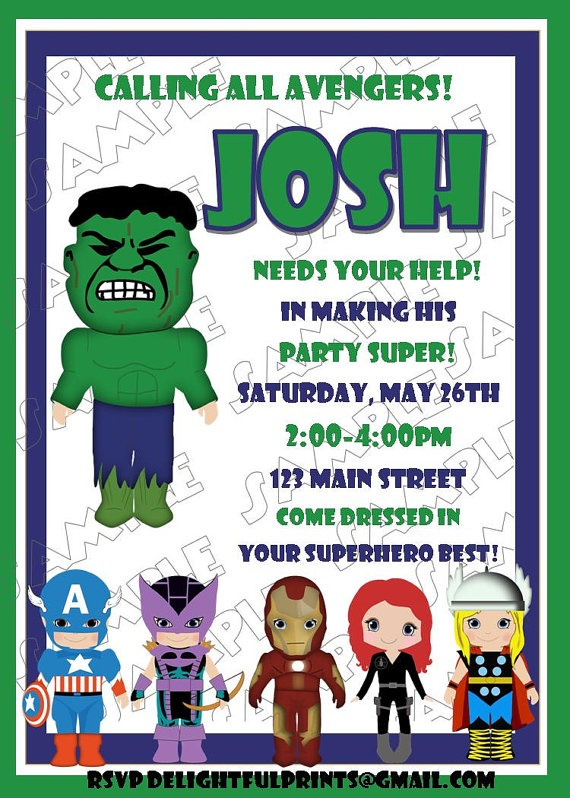 157 best Hulk birthday party images – Hulk Birthday Invitations