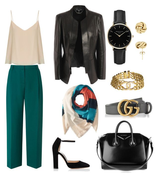 """""""💣Office bomb💣"""" by babsi666 on Polyvore featuring Gianvito Rossi, L.K.Bennett, Givenchy, Alexander McQueen, Michael Stars, Gucci, Chanel, Raey and ROSEFIELD"""