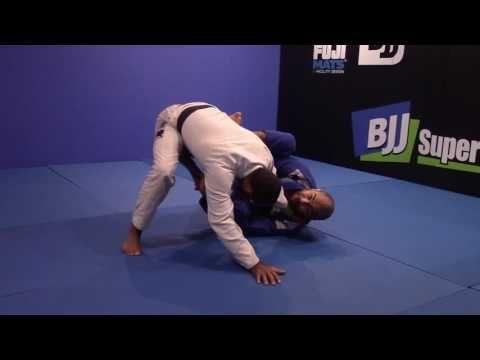 Push Him Away From Knee Cut - FREE Technique from Bernardo Faria's New Half Guard DVD - YouTube