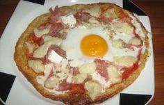Régime Dukan : Pizza dudu à l'oeuf #dukan http://www.dukanaute.com/recette-pizza-dudu-a-l-oeuf-367.html