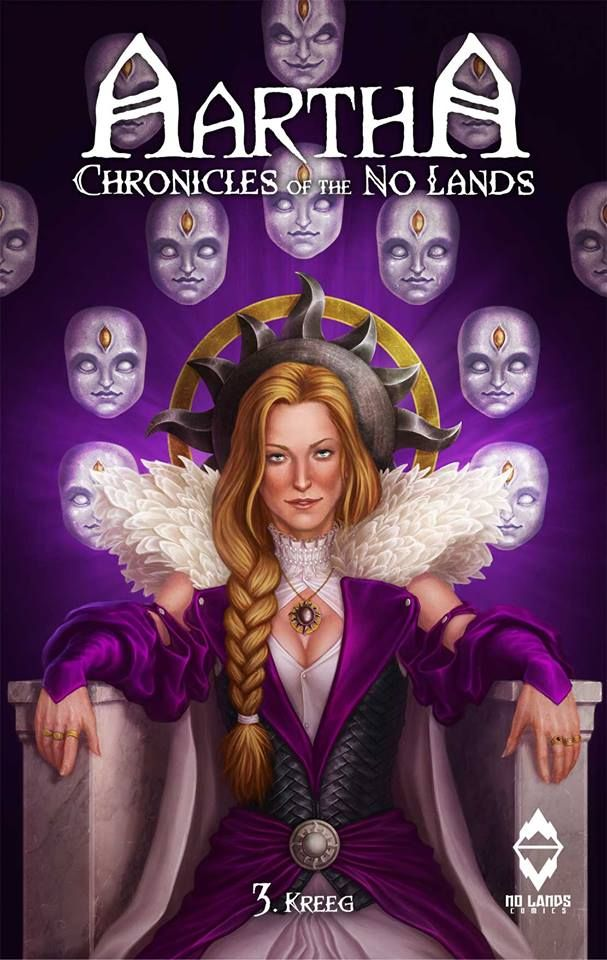 Aartha, Chronicles of the No Lands Pedro M. Andreo Xabi Gaztelua #fantasy #nolands #aartha