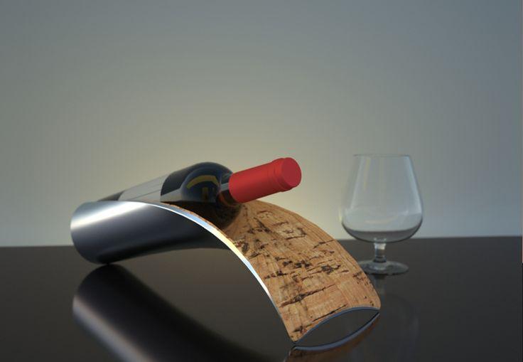 Suber Apoio para vinho Projeto para Quality Móveis e Objetos