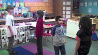 Activity Idea for teaching synonyms/antonyms using movement