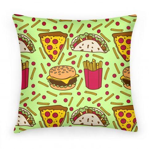 Junk Food Pillows