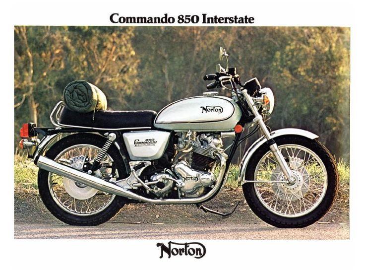 Norton Commando 850 Interstate Advert