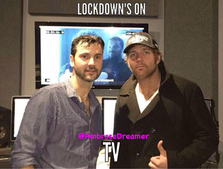 Dean ambrose- lockdown's on tv