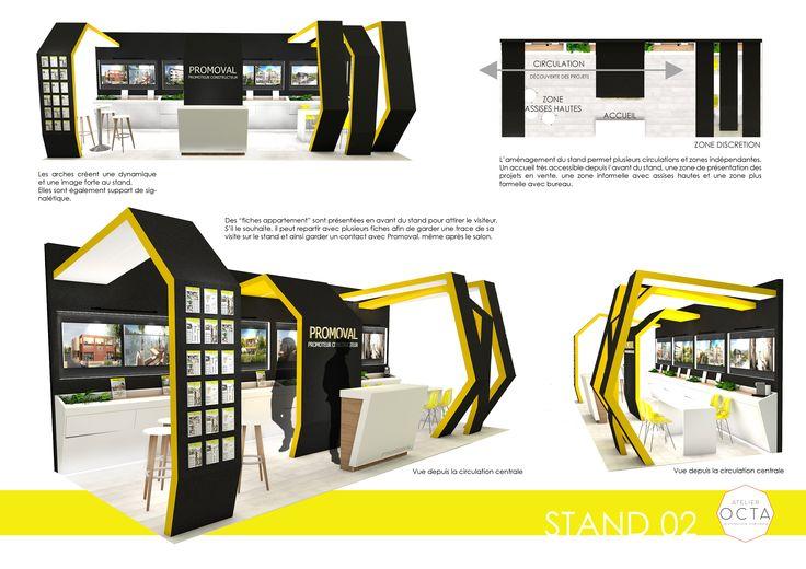 Proposition de stand pour Promoval lors du Salon de l'Immobilier de Lyon