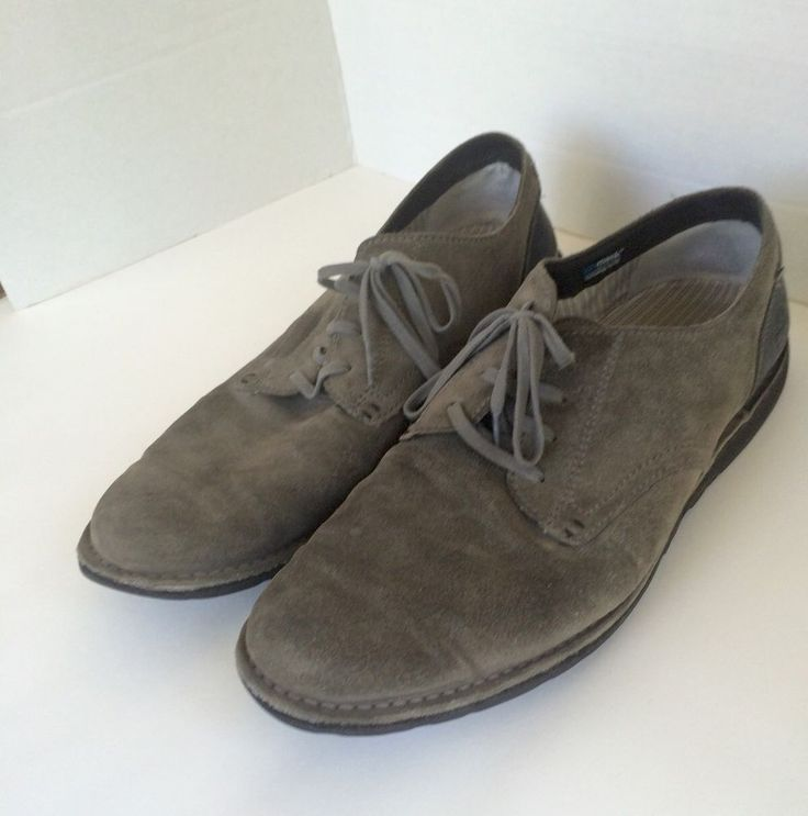 Pre Owned Men's Timberland Earthkeepers Anti Fatigue Size 12M Oxford Gray Leathe | eBay