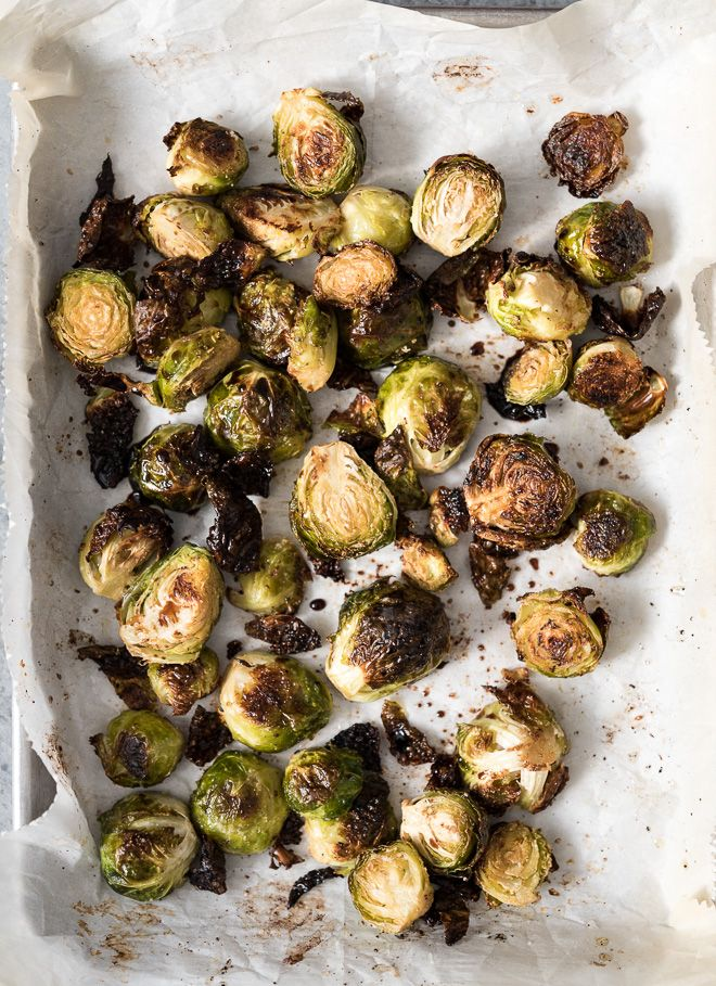 Balsamic Roasted Brussels Sprouts with Pomegranates | Life is but a Dish   – LIFE IS BUT A DISH BLOG RECIPES