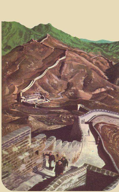 √ La grande muraglia cinese