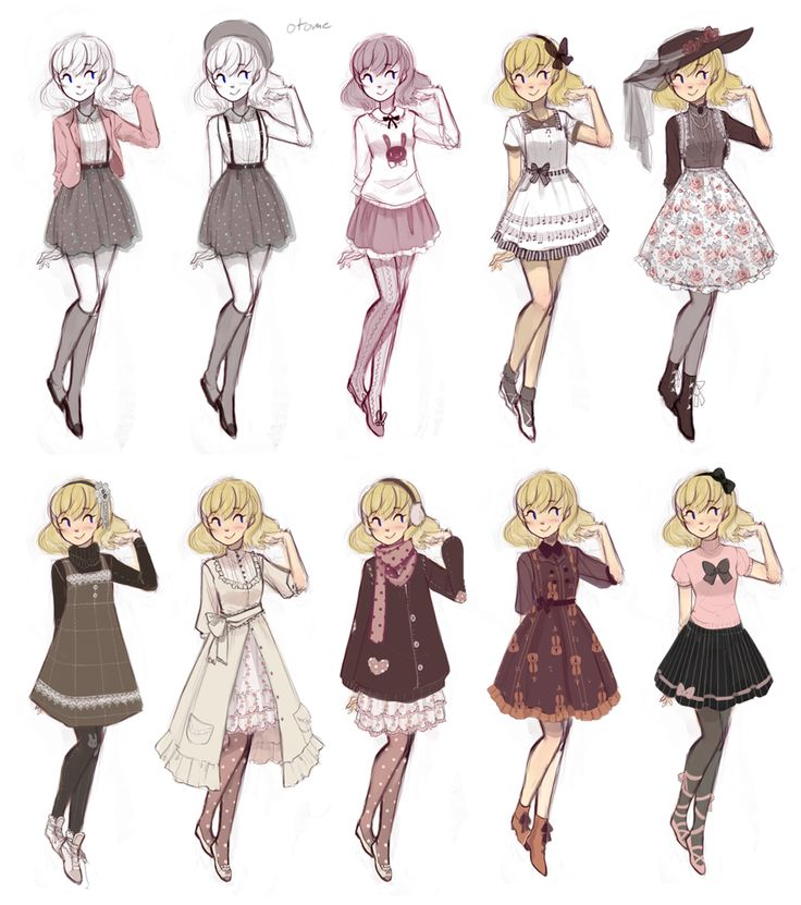 cuteparade by Ruin-HCI.deviantart.com on @DeviantArt I would wear all of these