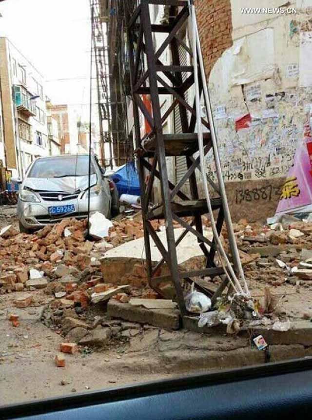 Földrengés volt Kína délnyugati részén