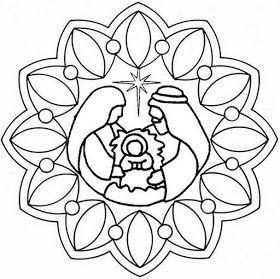 La Catequesis: Mandalas de Adviento y Navidad para estimular la concentración de niños y adultos